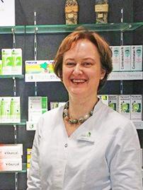 Porträtfoto von Apothekerin Claudia C. Henke