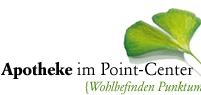Logo der Apotheke im Point-Center
