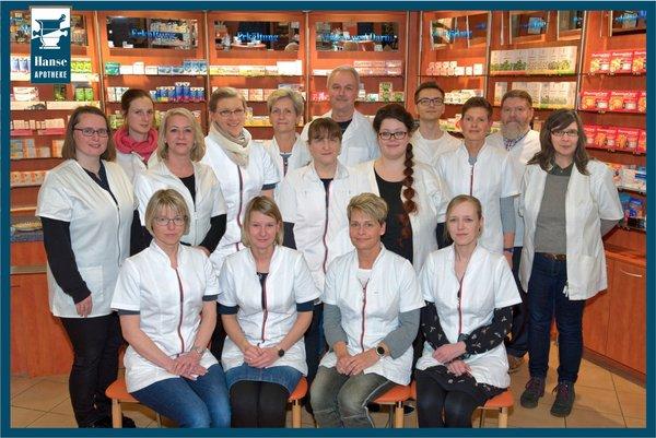 Team der Hanse-Apotheke