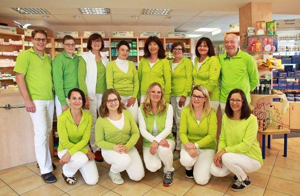 Team der Andreas Hofer Apotheke