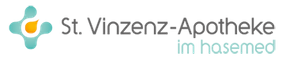 Logo der St. Vinzenz-Apotheke im hasemed