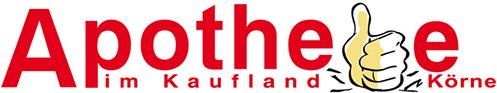 Logo der Apotheke im Kaufland Körne