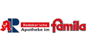 Logo der Redeker´sche Apotheke im famila