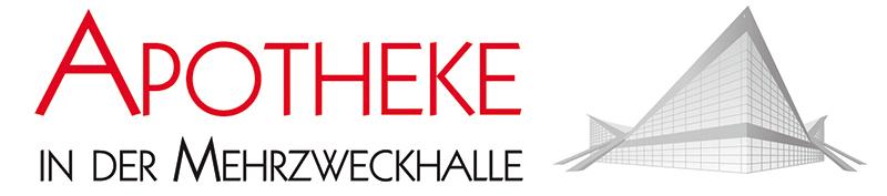 Logo der Apotheke in der Mehrzweckhalle
