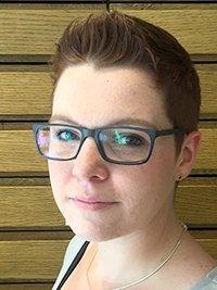 Porträtfoto von Frau Kirsch