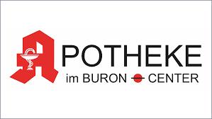 Logo der Apotheke im Buron-Center