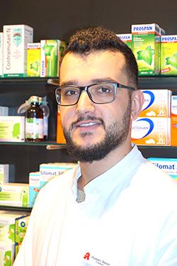 Porträtfoto von Bassel Hussain