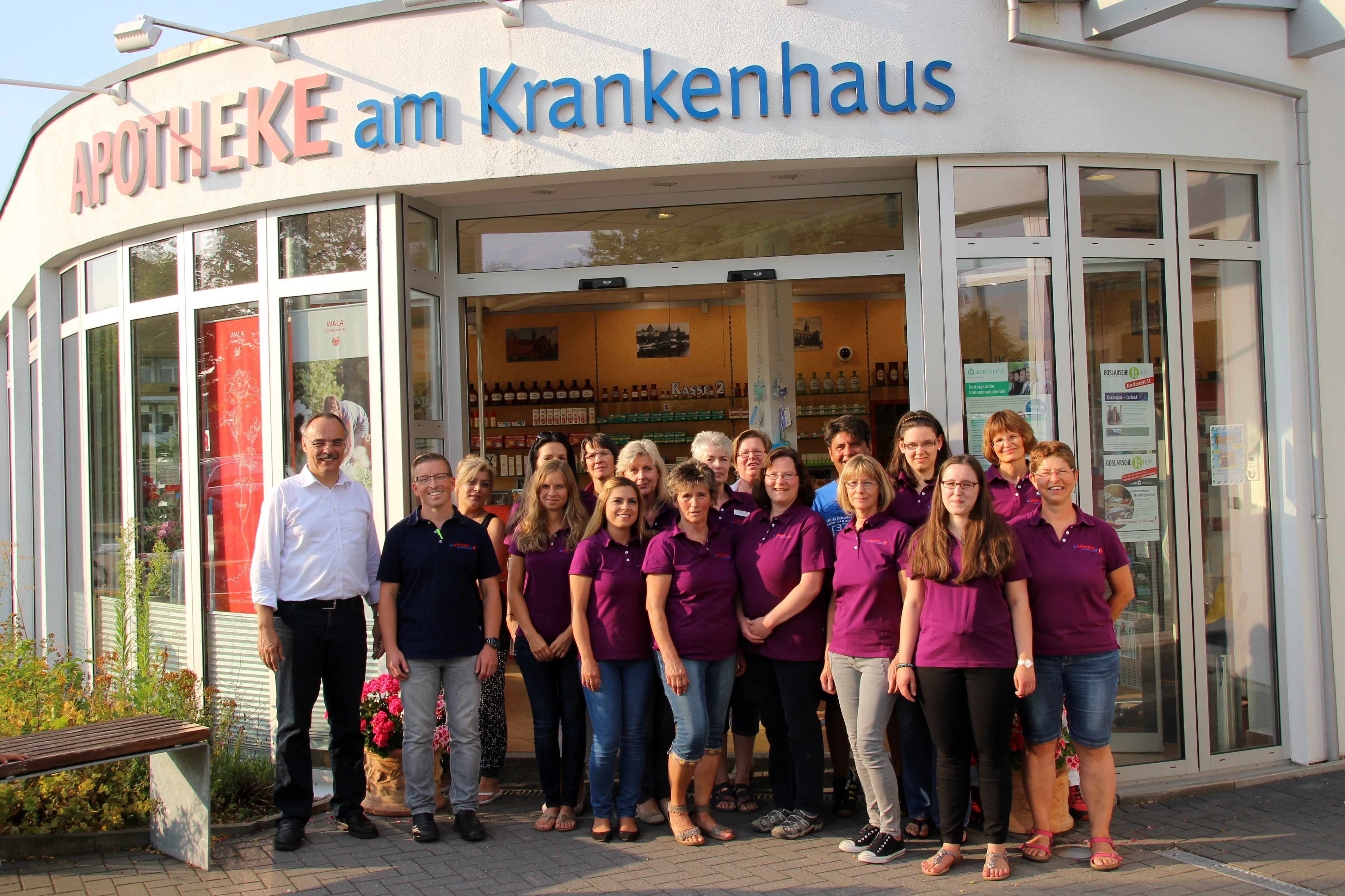 Team der Apotheke am Krankenhaus - Filialapotheke der Löwen Apotheke Oker