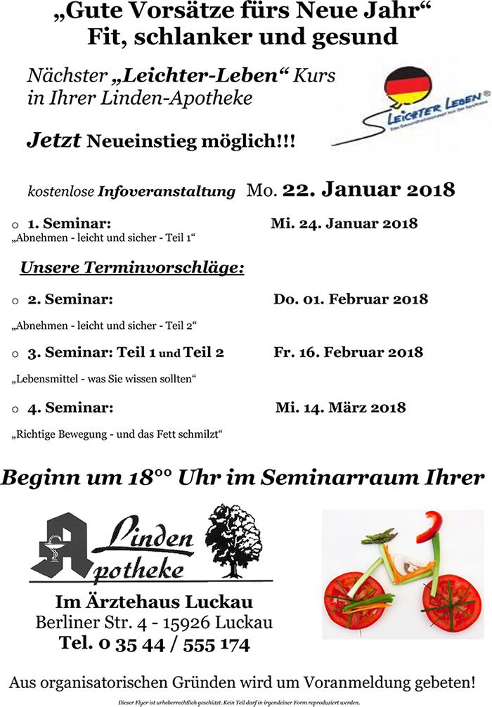 Leichter Leben In Deutschland Linden Apotheke In 15926 Luckau