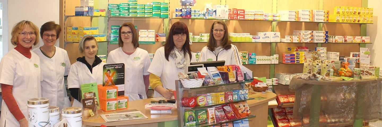 Herzlich willkommen in Ihrer Linden-Apotheke in Luckau
