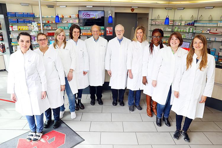 Team der Apotheke am Marienhospital
