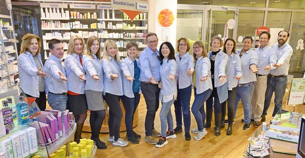 Team der MediCentrum-Apotheke