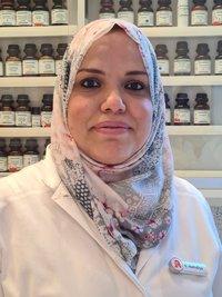 Porträtfoto von Frau Hamdiya