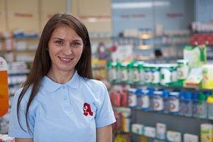 Porträtfoto von Pharmazie-Praktikantin
