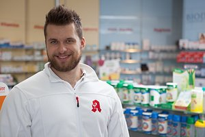 Porträtfoto von Pharmazie-Student