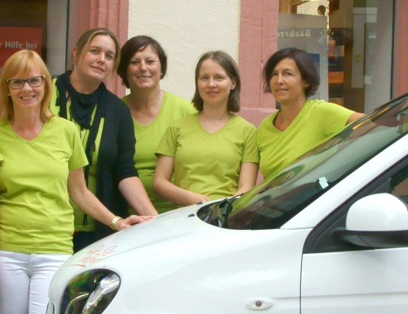 Team der Stadtapotheke am Rathaus
