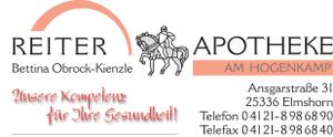 Logo der Reiter-Apotheke am Hogenkamp