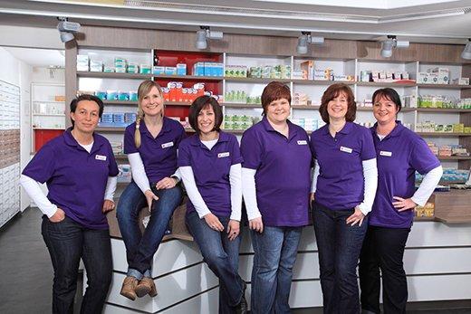 Team der St. Engelbert-Apotheke