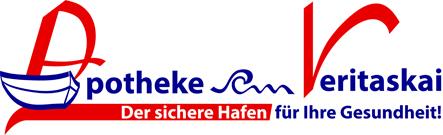 Logo der Apotheke am Veritaskai
