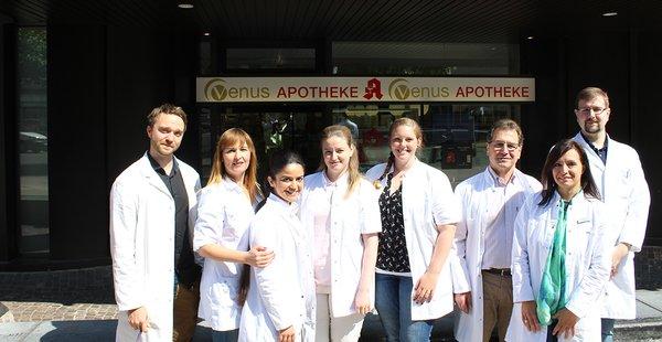 Team der Venus-Apotheke