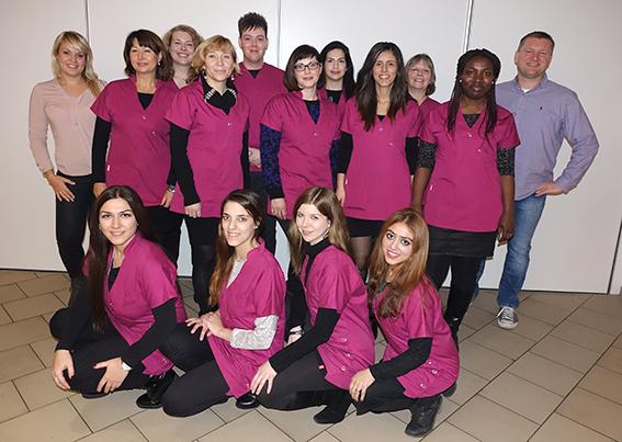 Team der Apotheke am Leipziger Platz
