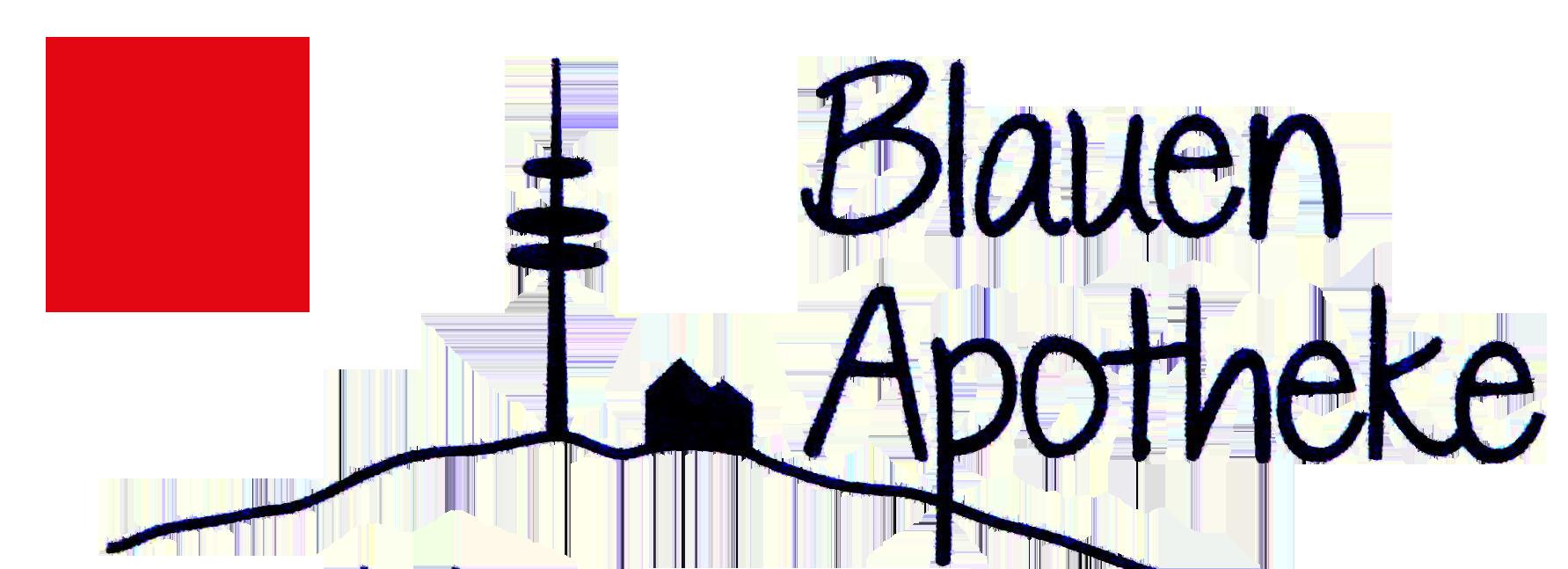 Logo der Blauen Apotheke