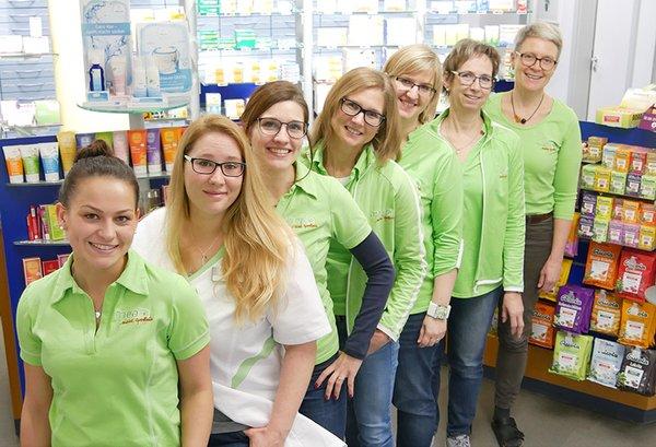 Team der St. Leonhard-Apotheke Söflingen