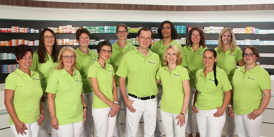 Team der Oberberg-Apotheke