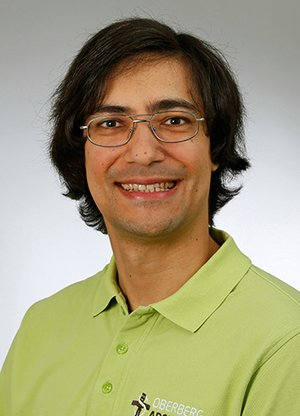 Porträtfoto von Ramesch Sarkar