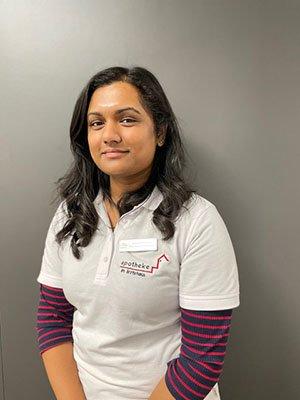 Porträtfoto von Frau Sureshkumar