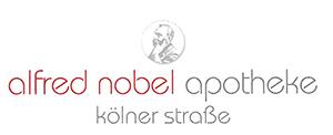 Logo der Alfred-Nobel-Apotheke Kölner Straße