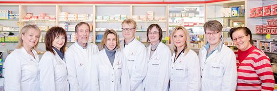 Team der Sophien-Apotheke