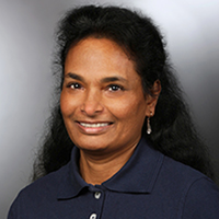 Porträtfoto von Frau Shanmuganathan