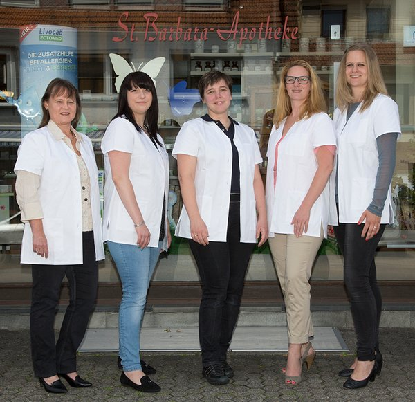 Team der St. Barbara-Apotheke