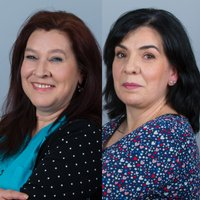 Porträtfoto von Frau Maria Pino und Frau Carmen Colorado Garcia