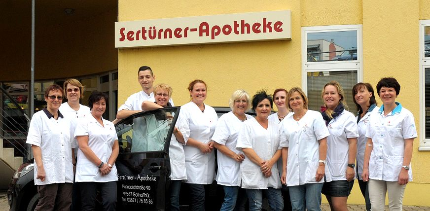 Team der Sertürner-Apotheke