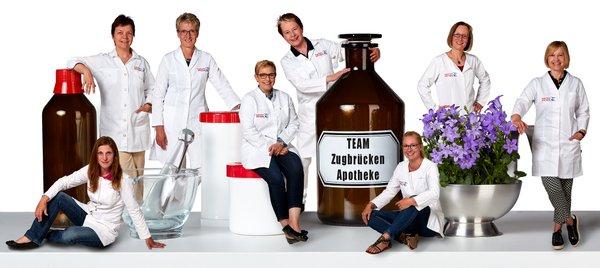 Team der Zugbrücken-Apotheke