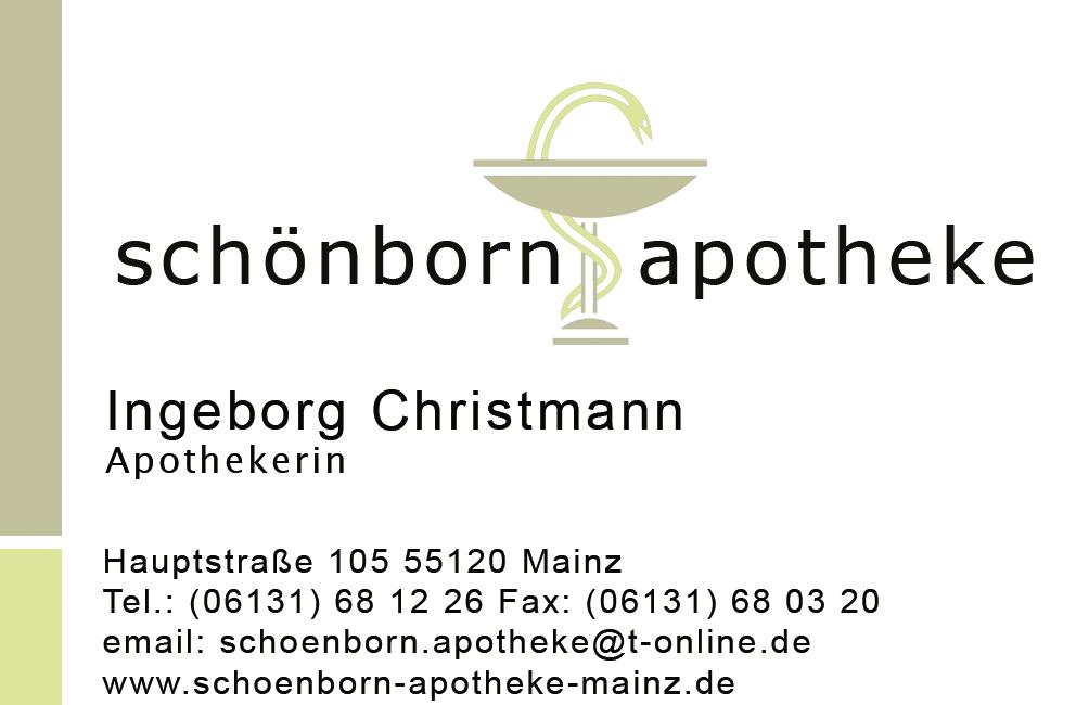 Logo der Schönborn-Apotheke