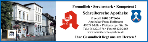 Logo der Schreibersche Apotheke