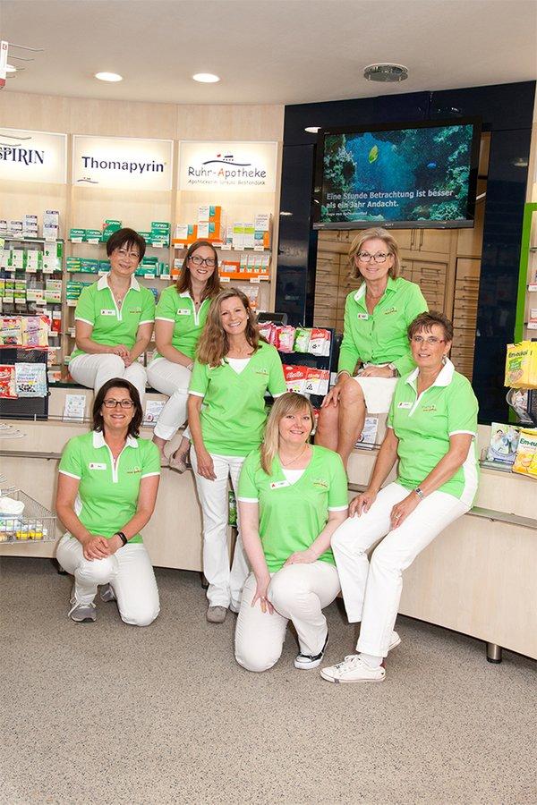 Team der Ruhr-Apotheke