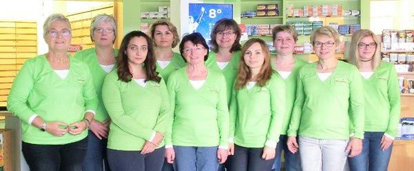 Team der Salinen-Apotheke