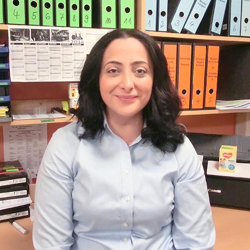 Porträtfoto von Leyla Özen