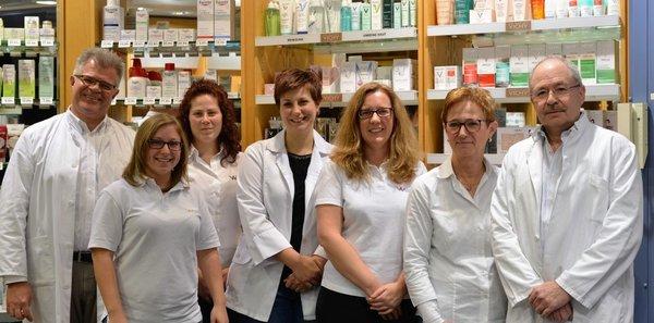 Team der Westrich-Apotheke
