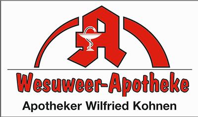 Logo der Wesuweer Apotheke