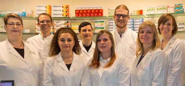 Team der Rochus-Apotheke