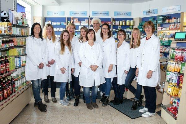 Team der Rohrhof-Apotheke Brühl