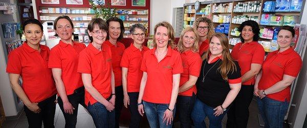 Team der Wildpark-Apotheke