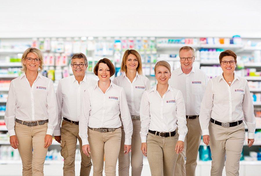 Team der Wilhelm-Busch-Apotheke