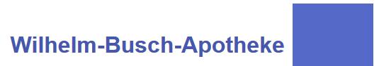 Logo der Wilhelm-Busch-Apotheke