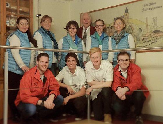 Team der Reichsadler-Apotheke